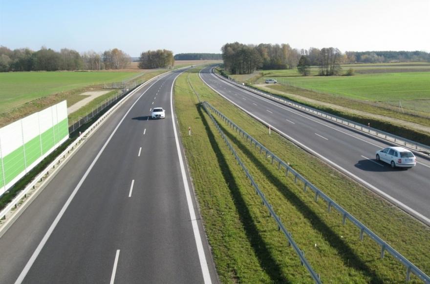 Droga ekspresowa S8 Kepno - Wieruszów. Zdjęcie: GDDKiA.