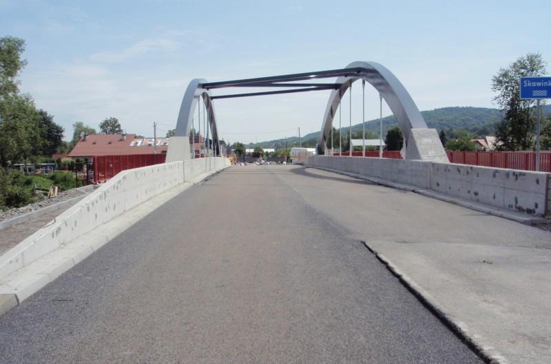 Most w ciągu drogi krajowej nr 52