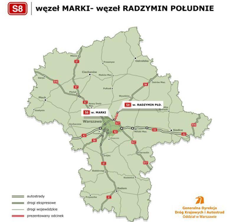 Droga ekspresowa S8 Marki - Radzymin