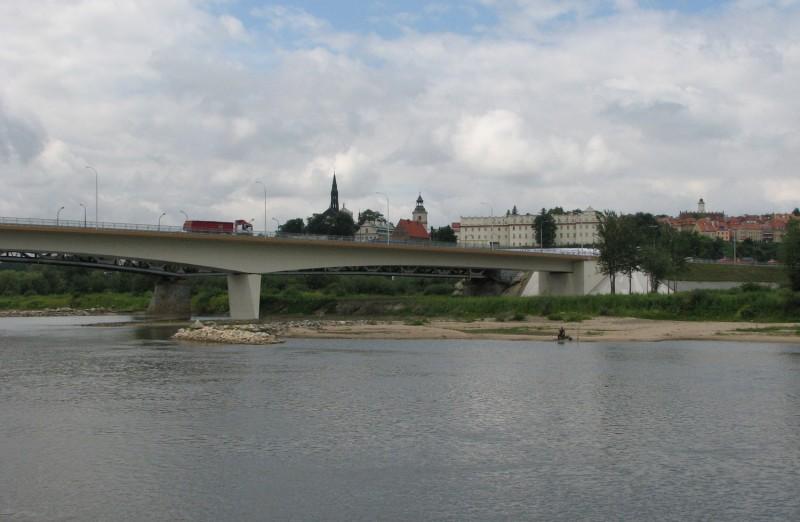 W 2020 r. decyzja środowiskowa dla mostu i Lwowskiej Bis DK77 w Sandomierzu