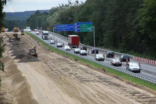 Przebudowa autostrady A6: schody zastąpi nowa nawierzchnia