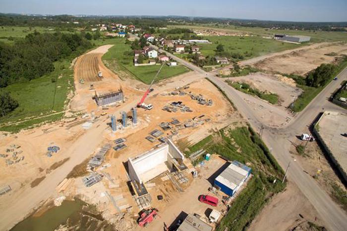 Budowa autostrady A1 - obwodnicy Częstochowy