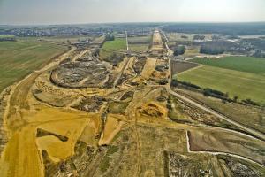 Autostrada A1 Częstochowa – Pyrzowice coraz bardziej widoczna