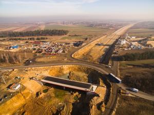 Opóźnienie na budowie A1 Częstochowa Płn. - Blachownia - galeria zdjęć luty 2019 r.