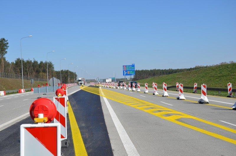 Utrudnienia na autostradzie A1 Tuszyn - Częstochowa