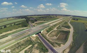Kierowcy jeżdżą A1 - wschodnią obwodnicą Łodzi. Będą przebudowane też dojazdy
