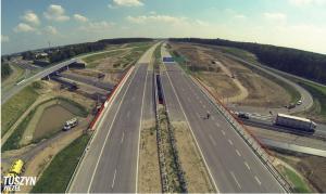 Budowa autostrady A1 Stryków - Tuszyn ukończona