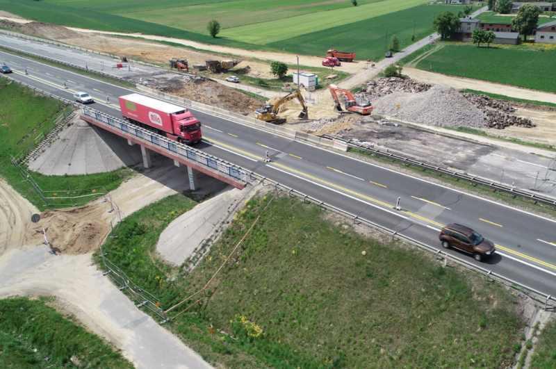 Prace w związku z budową autostrady A1