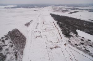 Budowa autostrady A1 Rząsawa - Blachownia (styczeń 2017 r.)