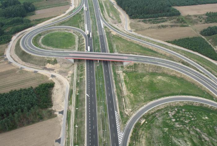 Remont autostrady A2 Konin - Koło - Dąbie