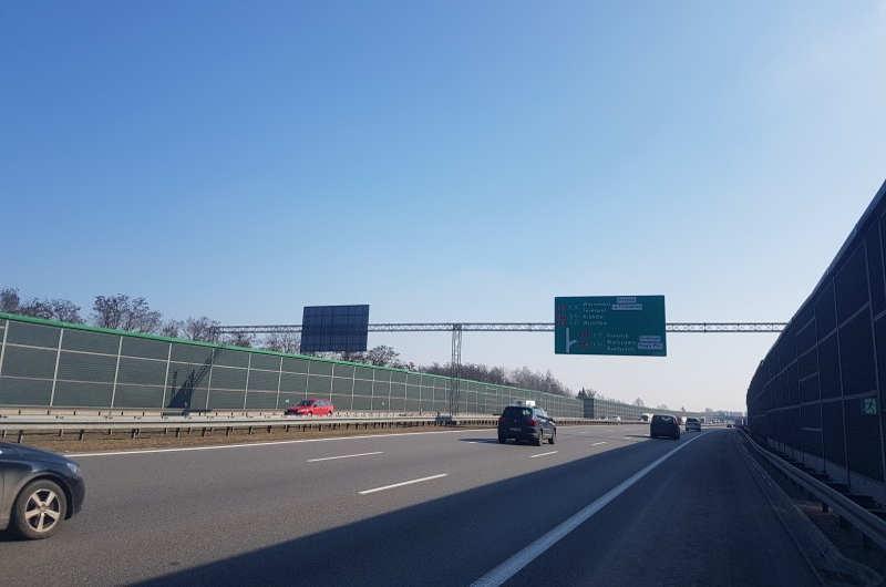 Tak wygląda obecnie autostrada A2 Łódź - Warszawa