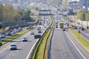 Wolniej na autostradzie A4 – trwają powroty ze świąt