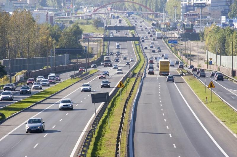 Utrudnienia na autostradzie A4 w Katowicach