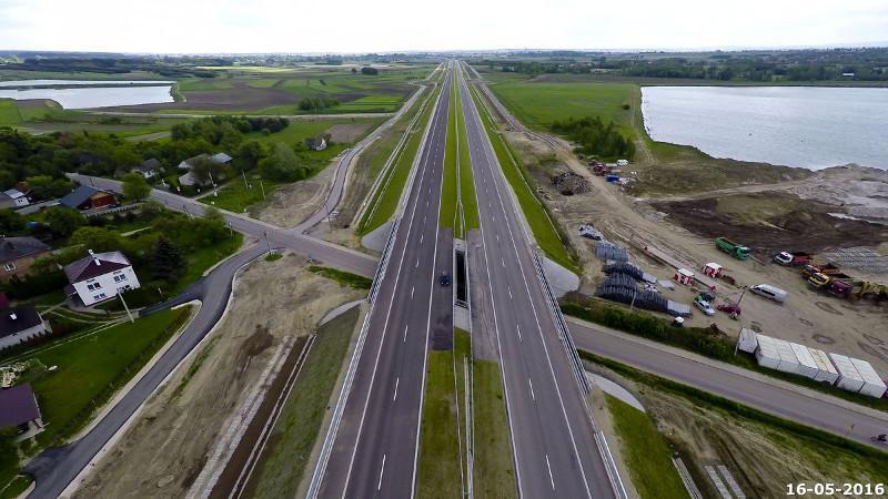 41-km odcinek autostrady A4 Rzeszów-Jarosław został oddany do ruchu. 20 lipca br.