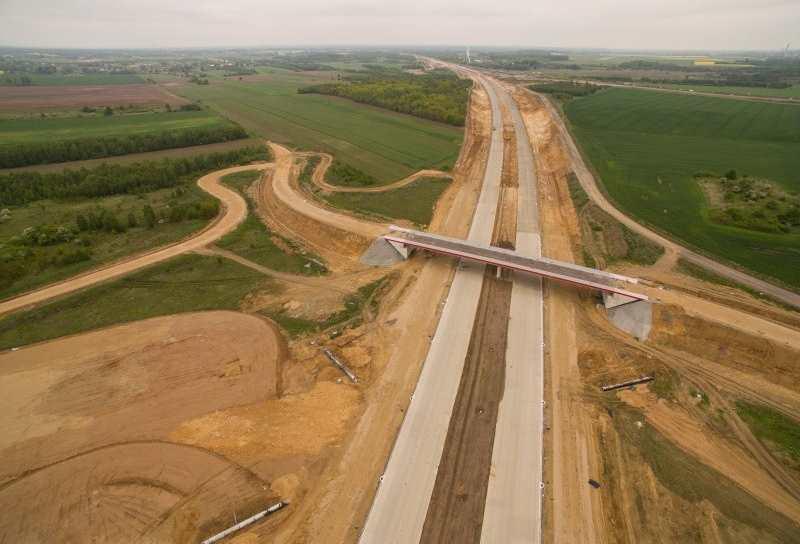 Autostrada A1 Częstochowa - Pyrzowice nadal w budowie