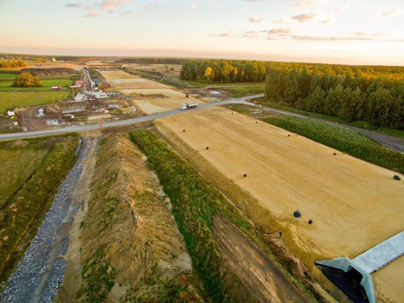 Autostrada A1 Woźniki - Pyrzowice - budowa trasy