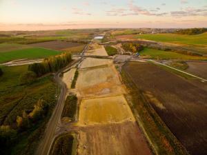 Odcinki autostrady A1 Częstochowa – Pyrzowice po pierwszym roku budowy