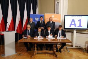 Odcinek A1 Kamieńsk – Radomsko w rękach konsorcjum Strabag i Budimex