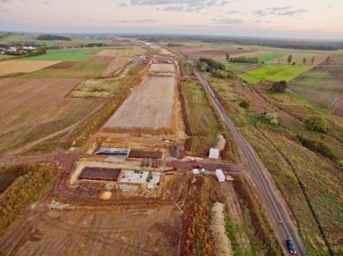 Budowa autostrady A1 Rząsawa - Pyrzowice. Odcinek Zawodzie - Woźniki