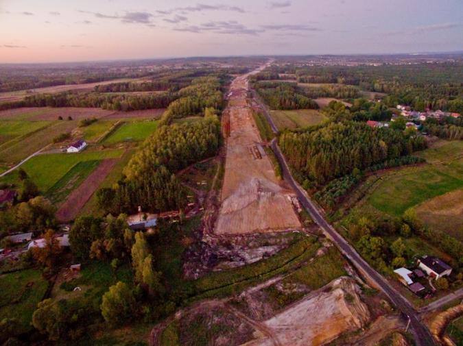 Z wizytą na budowie autostrady A1 Częstochowa - Pyrzowice