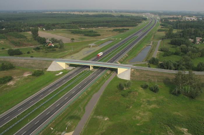 Remont autostrady A2 Konin- Koło- Dąbie. Jeździmy jedną jezdnią