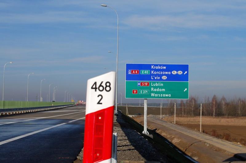 Nowy system usprawni ruch na A4 i DK94 na granicy w Korczowej