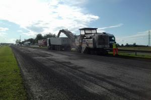 Trwają prace na autostradzie A4 koło Wrocławia