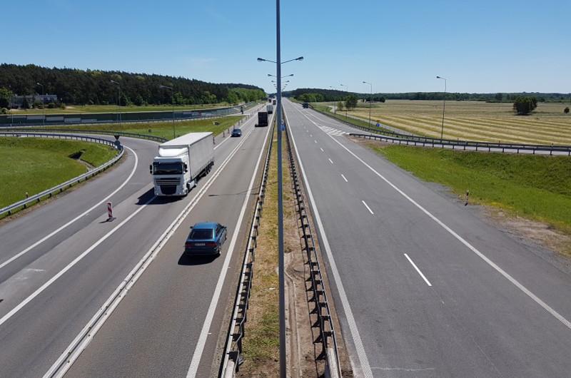 Znowu korki na autostradzie A4. Wypadek TIRa przed PPO Balice