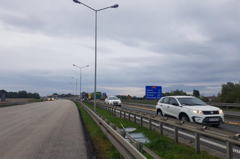Remont autostrady A4 do II połowy października