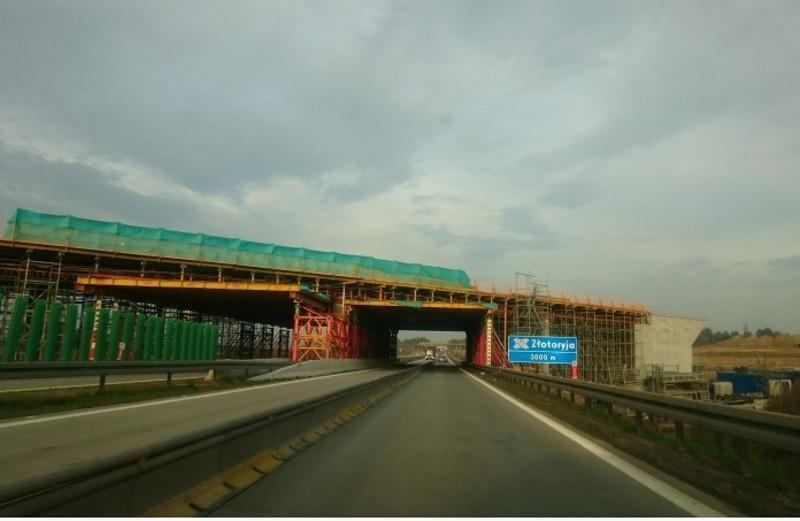Utrudnienia na autostradzie a4 Wrocław - Legnica