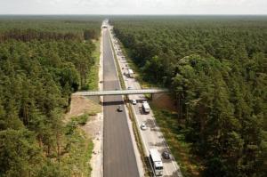 Wznowione roboty na autostradzie A6. Jedździmy tylko jedną jezdnią