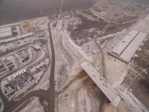 Obwodnica Częstochowy. Budowa autostrady A1 - stan na luty 2018