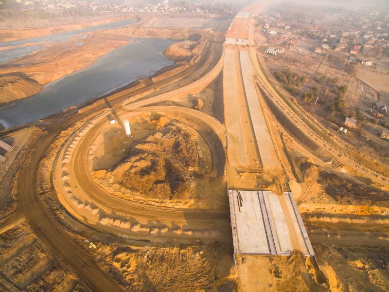 Stan prac na budowie autostrady A1 Czestochowa Północ - Blachowania po odejściu Salini