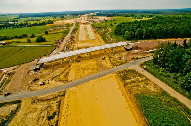 Raport z budowy autostrady A1 Częstochowa - Pyrzowice