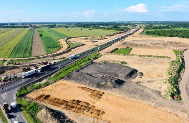 Budowa autostrady A1, utrudnienia na DK1 gierkówce