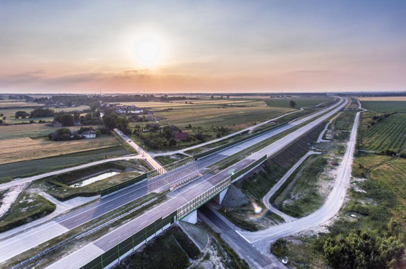 Autostrada A1 w woj. łódzkim - obwodnica Łodzi
