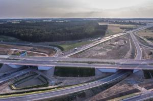 Nowe 40 km autostrady A1 w galerii zdjęć