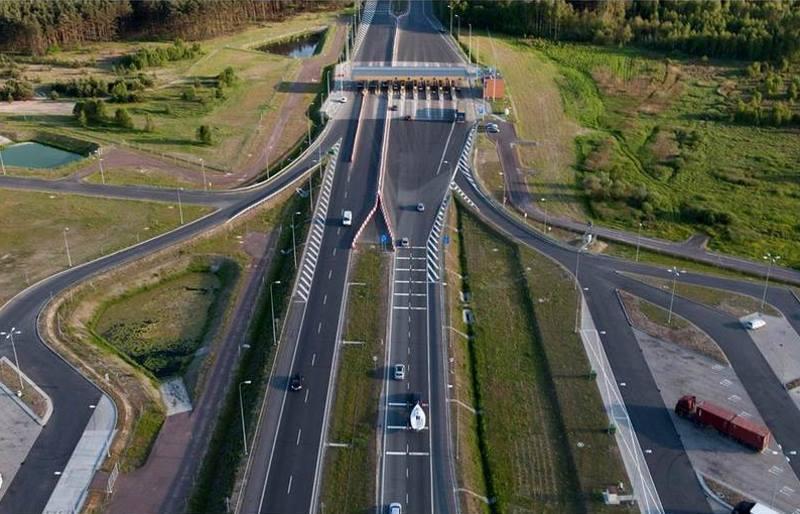 Bramki i opłaty na autostradzie A1 Toruń - Gdańsk