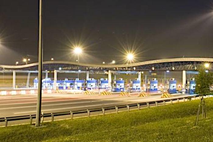 Punkt Poboru Opłat na autostradzie A4 Katowice - Kraków