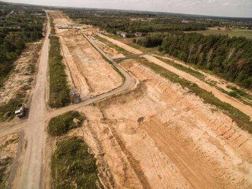 Trasa autostrady A1 Rząsawa – Blachownia coraz bardziej widoczna