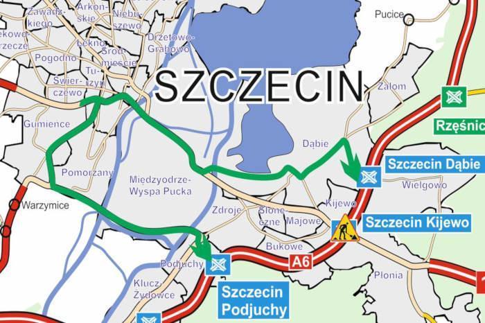 Przebudowa autostrady A6 - zachodniej obwodnicy Szczecina