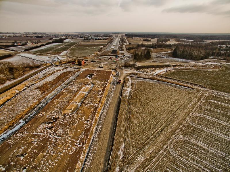 Rośnie autostrada A1 z Pyrzowic do Częstochowy