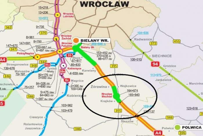 Utrudnienia na A4: Ruszył remont koło Wrocławia