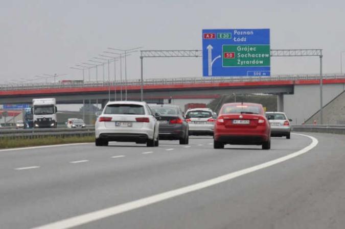 Wielka rozbudowa autostrady A2. Nowe pasy ruchu na trasie Łódź - Warszawa