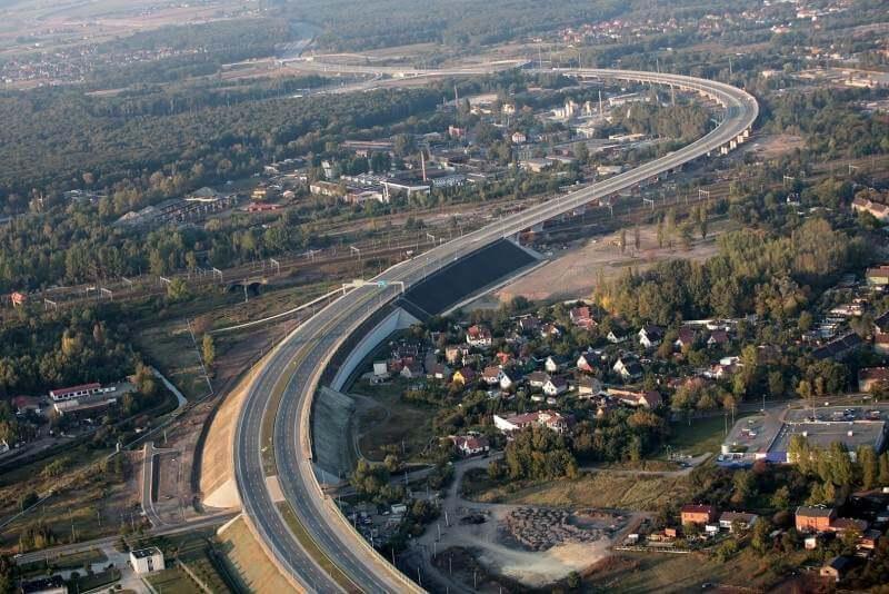 Autostrada A1 w woj. ślaskim