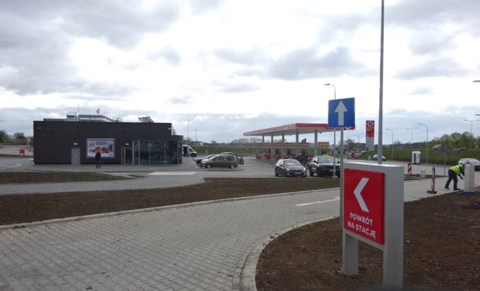 Nowa stacja paliw przy autostradzie A1