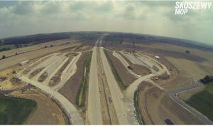 Autostrada A1 Stryków - Tuszyn na finiszu. Odcinek I węzeł Łódź Północ (A1/A2) - węzeł Brzeziny