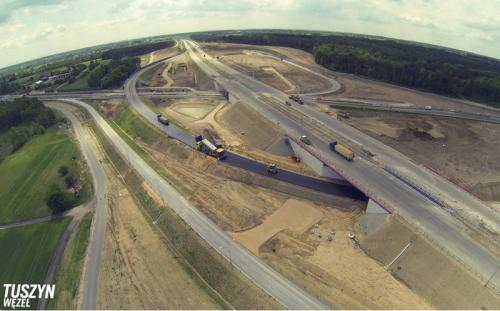 Autostrada A1 Stryków - Tuszyn na finiszu. Odcinek III węzeł Romanów - węzeł Tuszyn