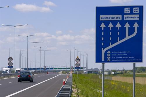 Opłaty na polskich autostradach