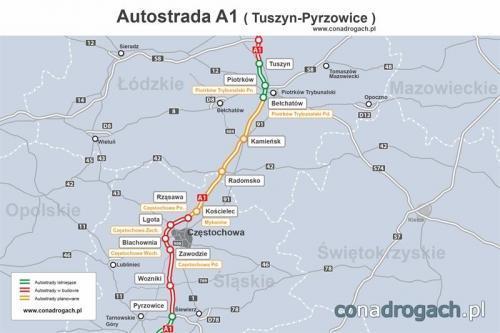 Wszystko o budowie autostrady A1